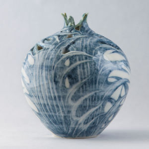Sea Holly Relief Vase